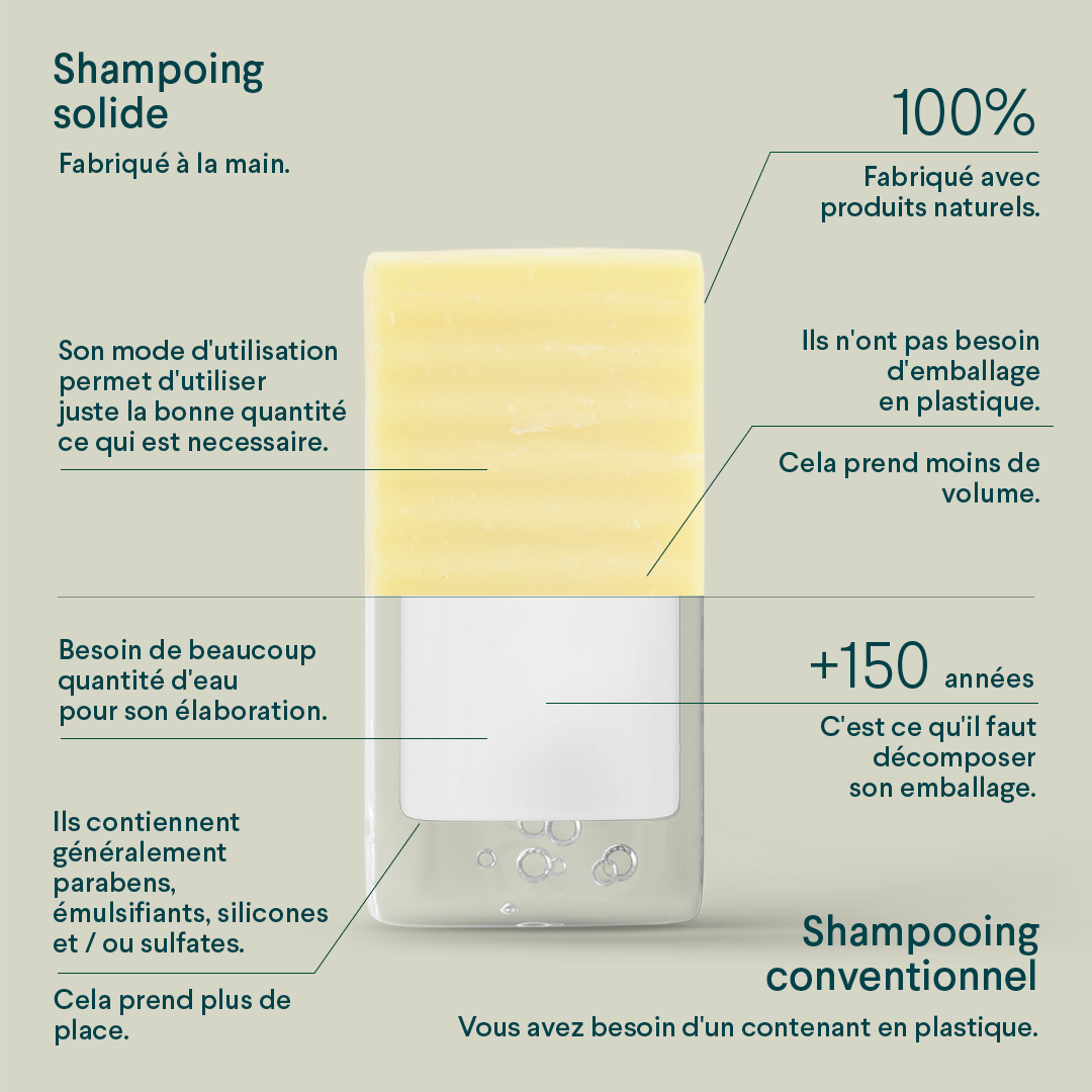 SHAMPOING SOLIDE 100G